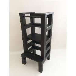 Učiaca veža - čierna farba