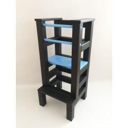 Učiaca veža - modročierna farba