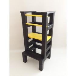 Učiaca veža - žltočierna farba