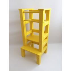 Učiaca veža - žltá farba