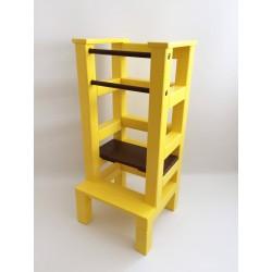 Učiaca veža - hnedožltá farba
