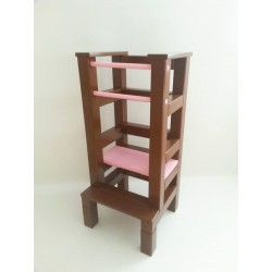 Učiaca veža – ružovohnedá farba