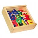 Magnetky na tabuli k učiacej veži - písmena 02