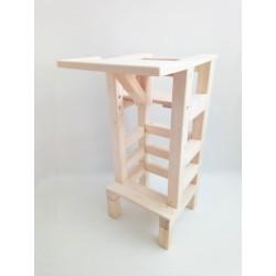 Jedálny stolík na učiacu vežu - bez úpravy