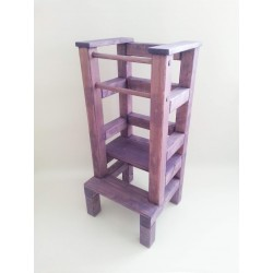 Učící věž - fialová lazura
