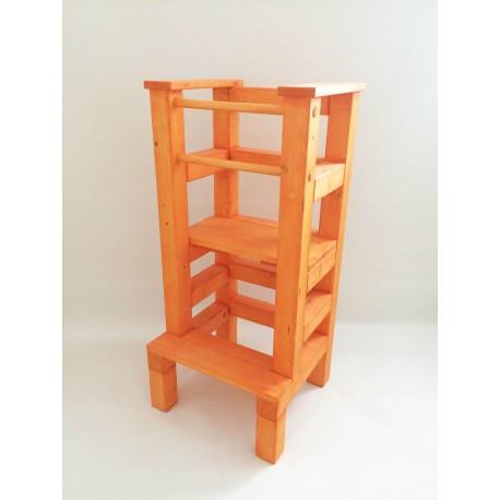 Učící věž lazura oranžová