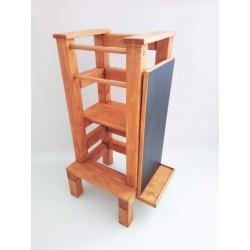 Magnetická tabuľa na učiacu vežu - lazúra s povrchovým lakom