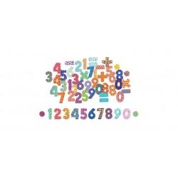 Magnetky na tabuli k učiacej veži - čísla