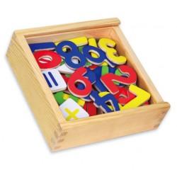 Magnetky na tabuli k učiacej veži - čísla 02
