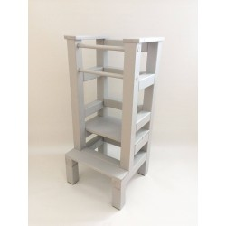 Učiaca veža - šedivá farba